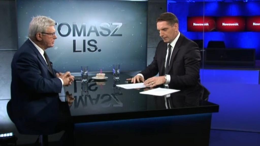 Tomasz Lis.: Andrzej Celiński, Maja Ostaszewska
