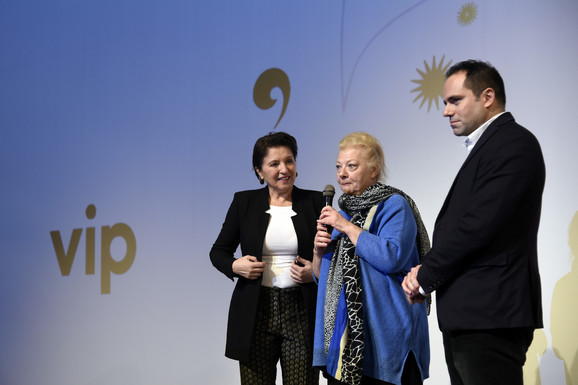 Mirjana Karanović, Radmila Živkovic i Marjan Vujović