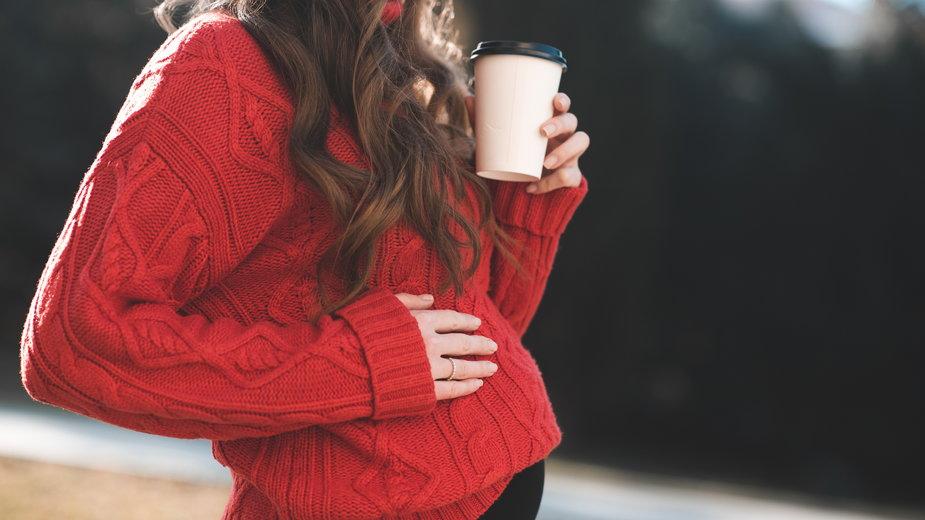 Czy można pić kawę w ciąży?