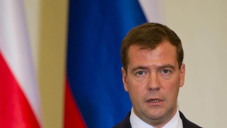 Prezydent Rosji Dmitrij Miedwiediew