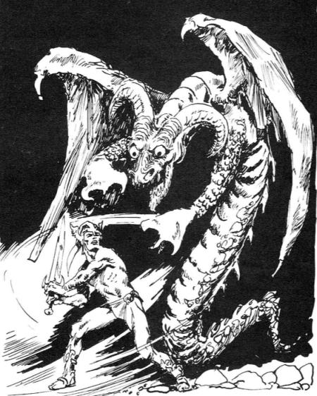 Ilustracja do drugiego wydania Dreszcza