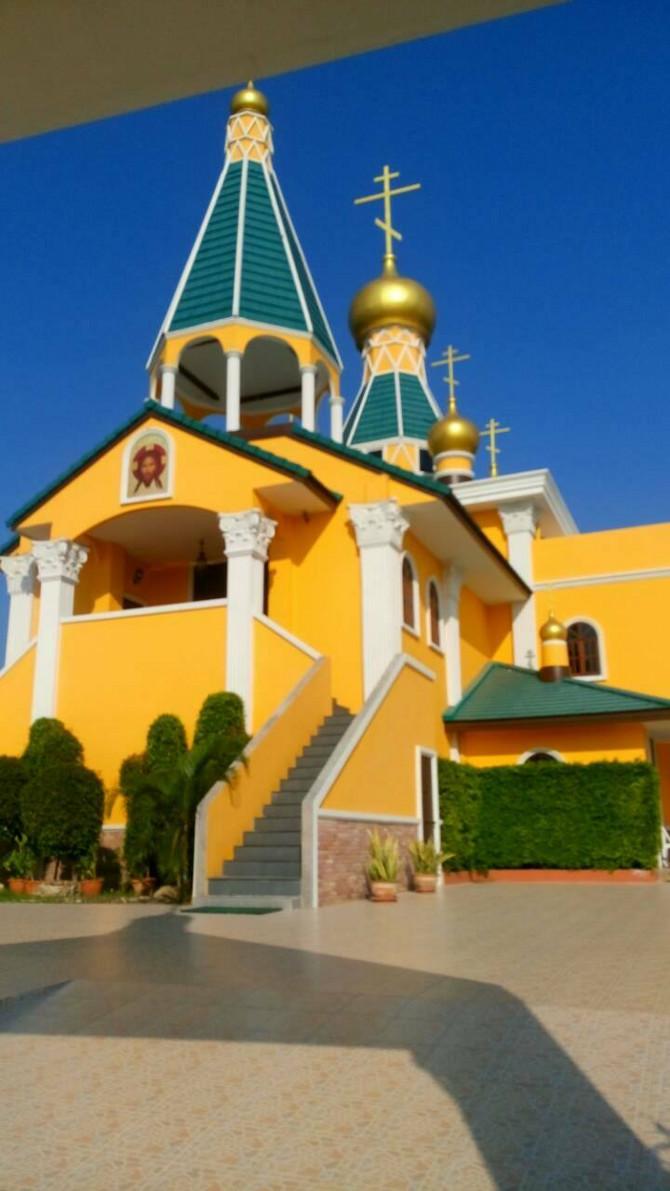 U Hua Hinu smo našli pravoslavni hram