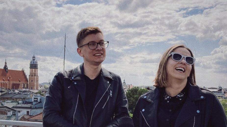 Mateusz Kudła i Anna Kokoszka-Romer