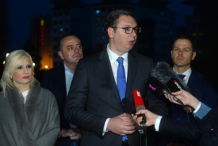 Aleksandar Vucic, Tanjug D. Goll