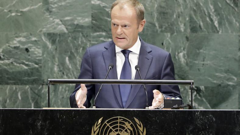 Donald Tusk w ONZ: prawo powinno być ponad władzą