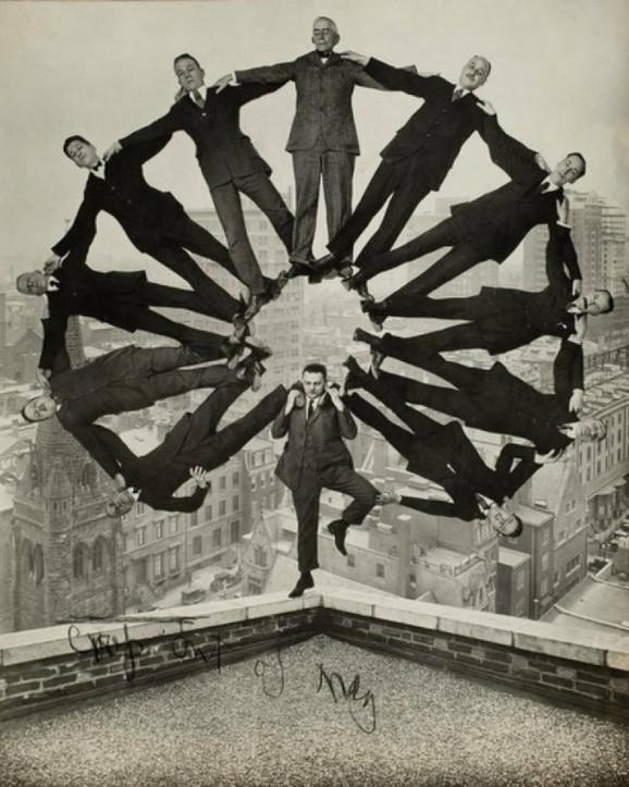 Ova fotomontaža je načinjena 1930. godine