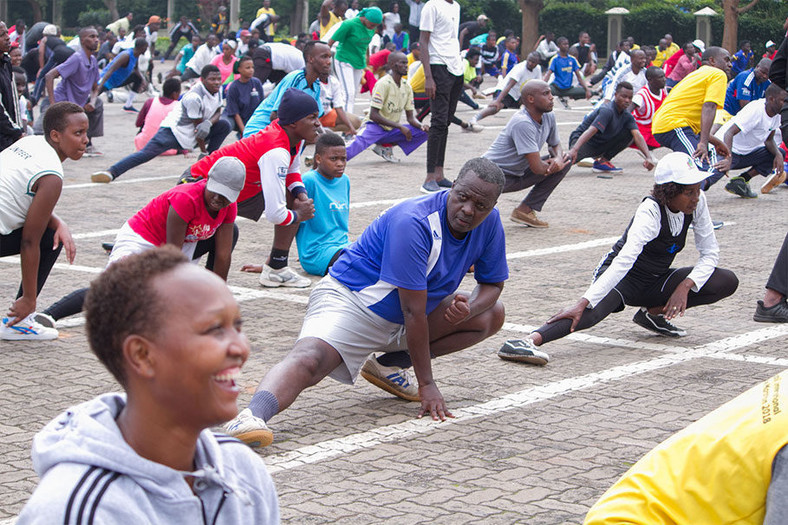 Car-free days have increasingly become popular among Kigalians and the practice has since been introduced many districts across the country. (NewCities Foundation)