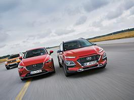 Dacia Duster kontra Mazda CX-3 i Hyundai Kona - czy tani SUV pokona drogich konkurentów?