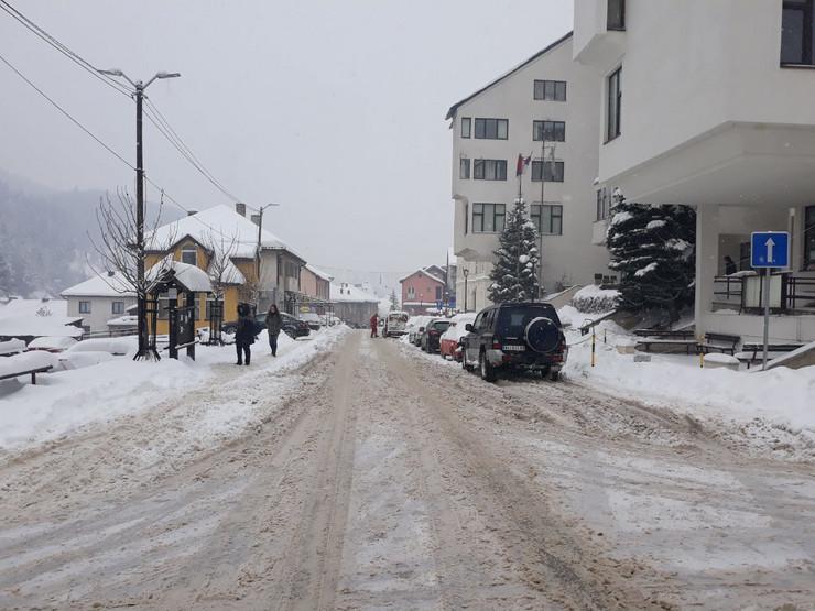 Nova Varoš pod snegom