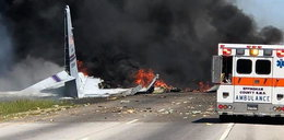 Katastrofa wojskowego samolotu. Są ofiary