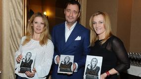 Szczupła Anna Powierza, Jacek Rozenek, Iwona Guzowska na premierze książki