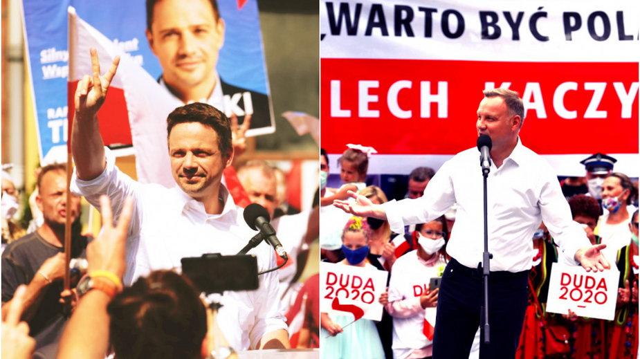 Rafał Trzaskowski/Andrzej Duda - Andrzej Grygiel/Wojtek Jargiło - PAP