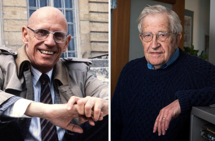 Michel Foucault Noam Chomsky
