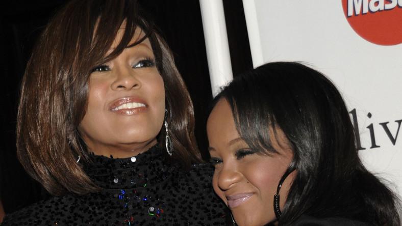 Whitney Houston z córką Bobbi