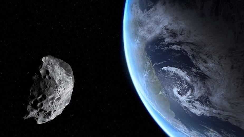 Asteroida minęła Ziemię w rekordowo małej odległości