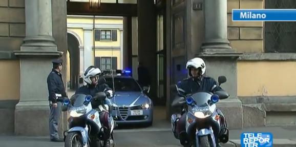 Vučinić je odmah izručen italijanskoj policiji