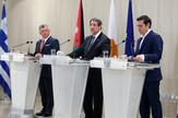 Lideri Kipra, Grčke i Jordana, EPA -  KATIA CHRISTODOULOU