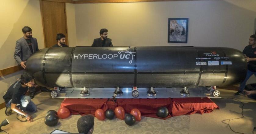 Prototyp Hyperloopa przygotowany przez zespół z Uniwersytetu w Cincinnati
