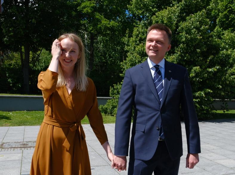 Urszula Brzezińska-Hołownia Szymon Hołownia
