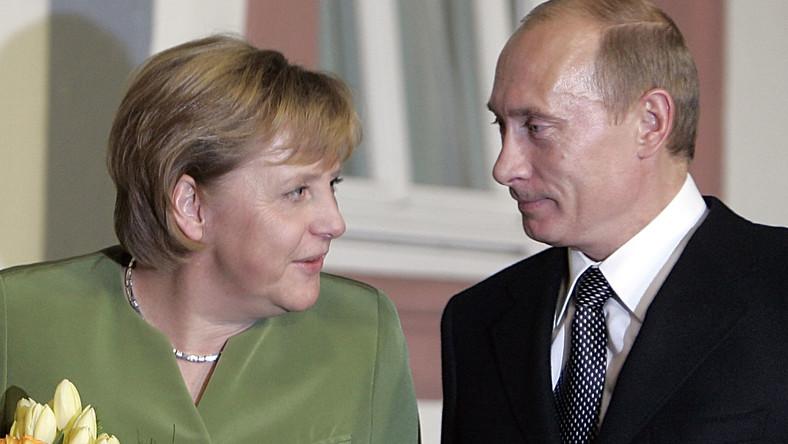 Konsltacje Putina i Merkel. Stosunki się pogarszają