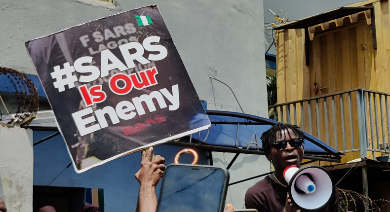 Hundreds of Nigerians took to the streets last year to protest years of unfair treatment by the police
