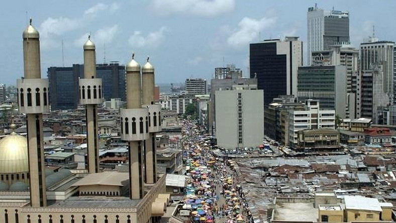 Central Business District of Lagos, which house the Head Office of major financial institutions in Nigeria