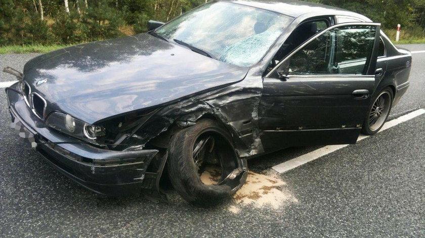 Wypadek na DK46