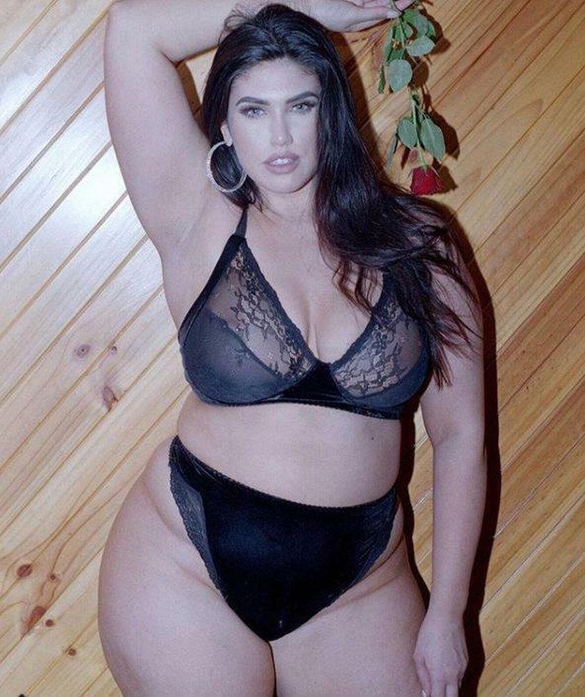 26-letnia modelka La'Tecia Thomas zmieniła rozmiar z XS na L