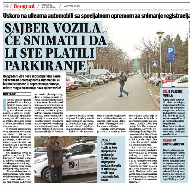 """""""Blic"""" najavio uvođenje sajber vozila"""