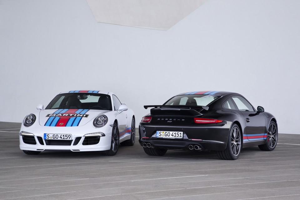 "Porsche 911 Carrera S ""Martini Racing Edition"""