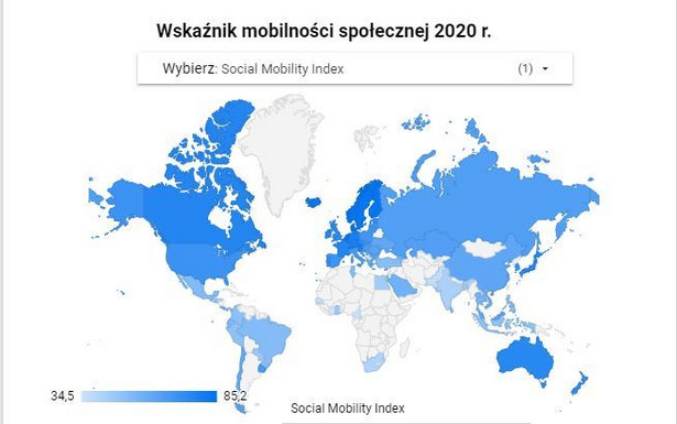 Social Mobility Index 2020
