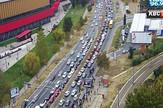 ušće gužva u saobraćaju