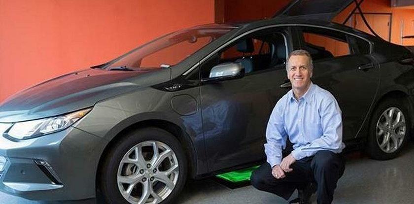 Bezprzewodowe ładowanie elektrycznych samochodów!