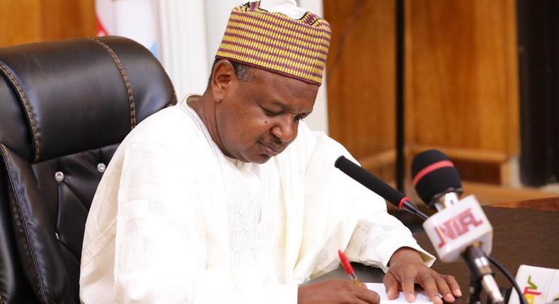 Kebbi State Governor, Atiku Bagudu. [sunnewsonline]