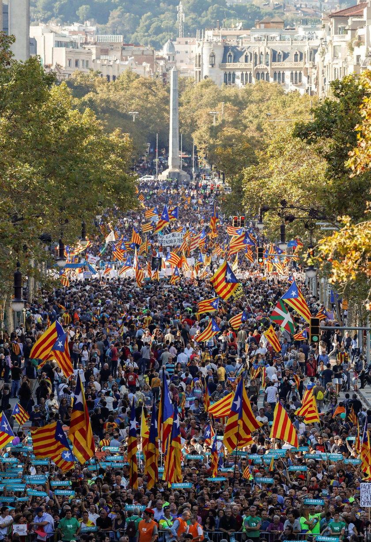 Szef PE ostro o sytuacji w Katalonii