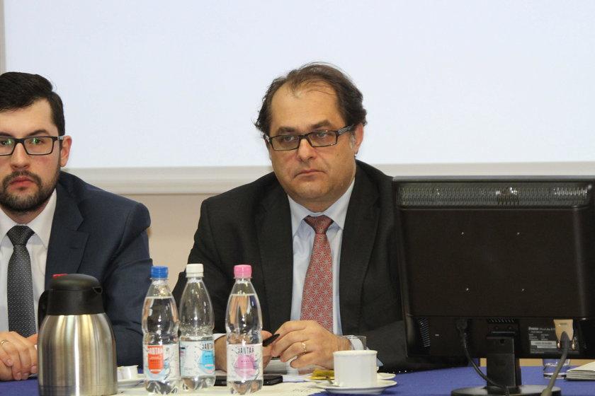 Marek Gróbarczyk, minister gospodarki morskiej i żeglugi śródlądowej w gabinecie Beaty Szydło