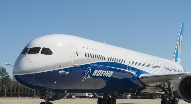Boeing Dreamliner 787-10. (Airfreight Logistics)