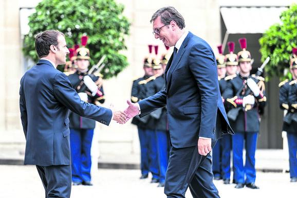 Susret Emanula Makrona i Aleksandra Vučića imaće i politički, ali i ekonomski aspekt