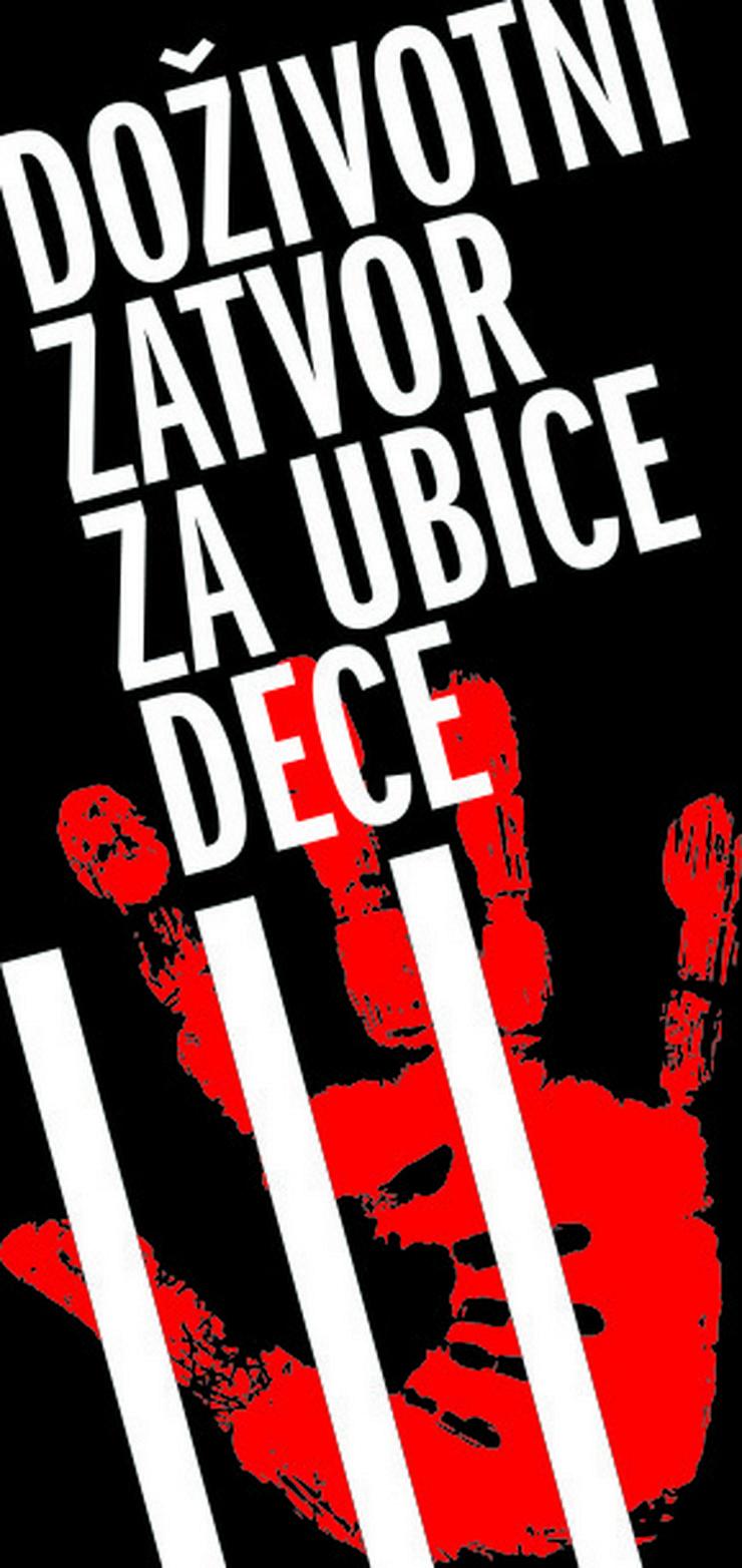 Doživotni zatvor za ubice dece LOGO
