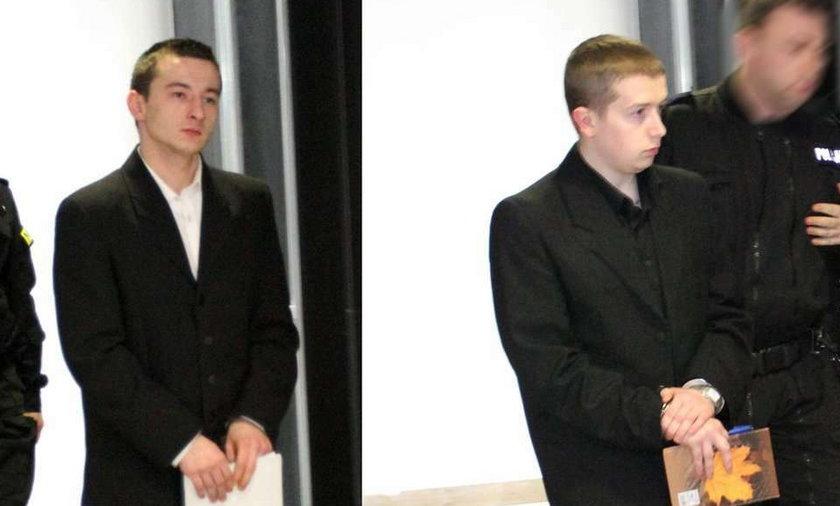 Nie daj się oszukać. Ci grzeczni chłopcy to mordercy. Dostali 15 i 25 lat