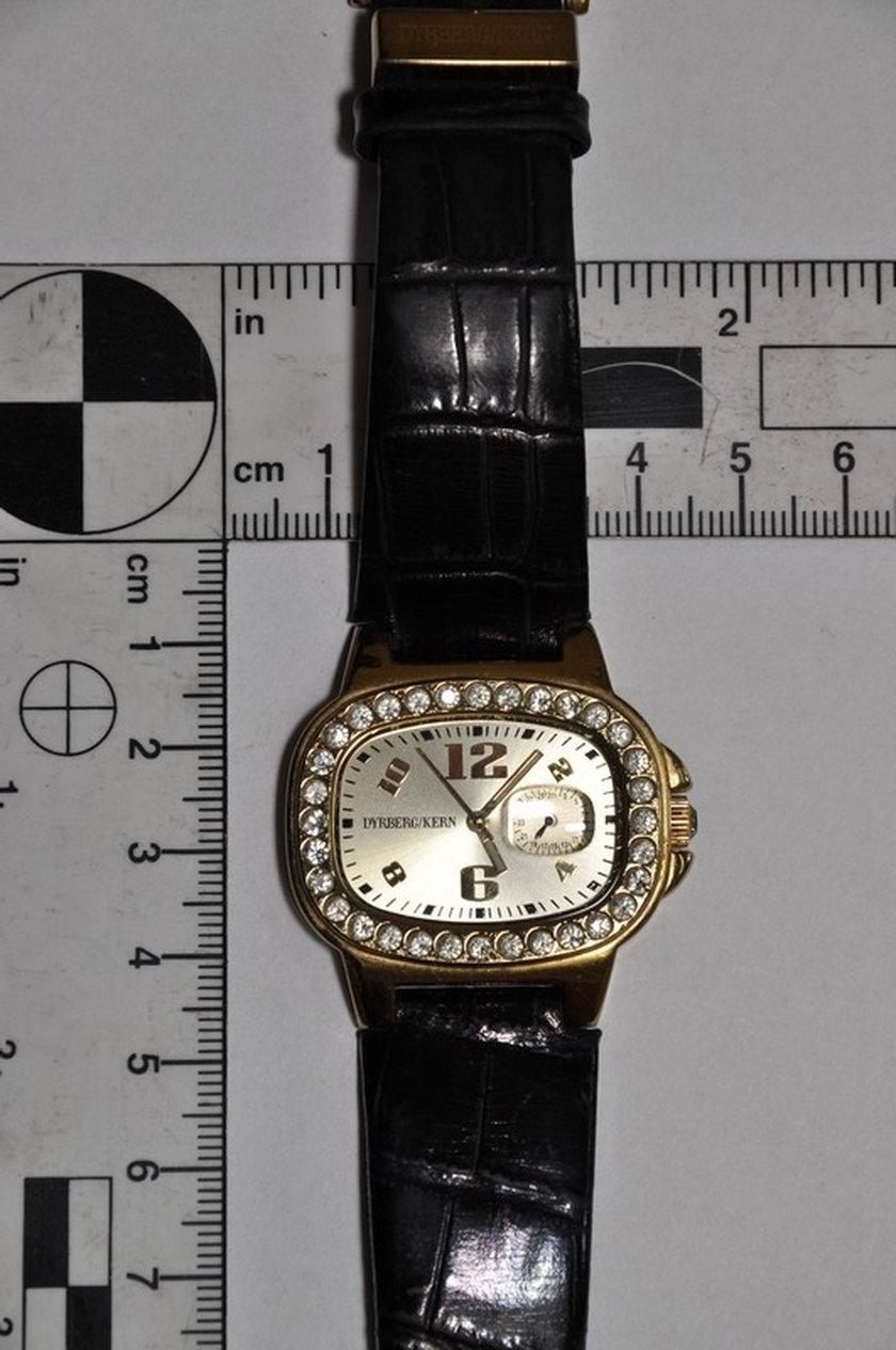Skardziony zegarek