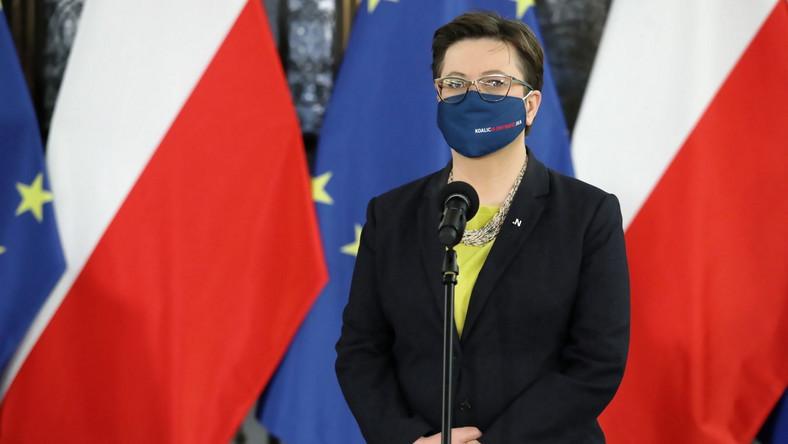 Katarzyna Lubnauer PAP/Tomasz Gzell