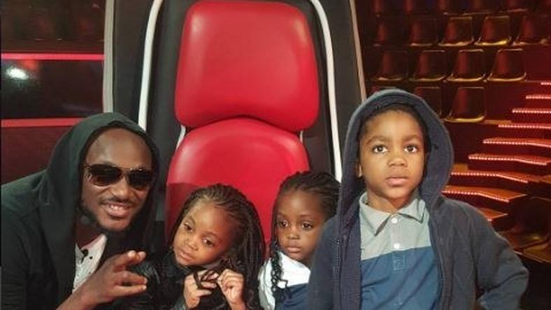 2Face with Timi Dakolo's kids