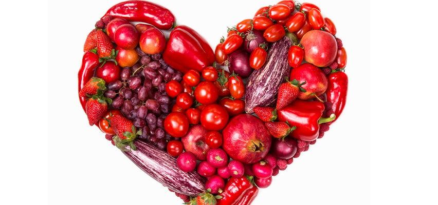 Graj w czerwone! 5 warzyw i owoców najzdrowszych dla serca
