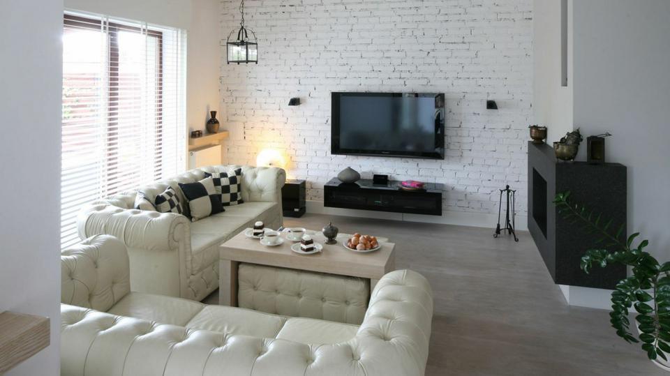 Oryginał Pomysły na ścianę w salonie, kuchni i sypialni. Fajne aranżacje z DK04