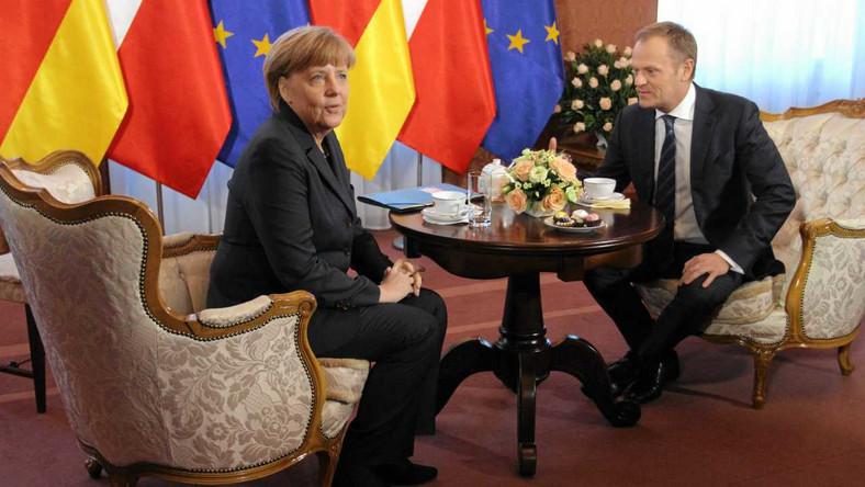 Angela Merkel, Donald Tusk