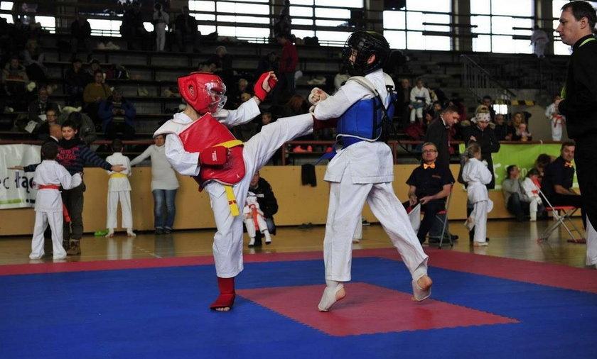 Zawody Karate w Sosnowcu