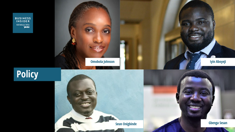 The 20 Most Important People in Nigerian Tech - Policy