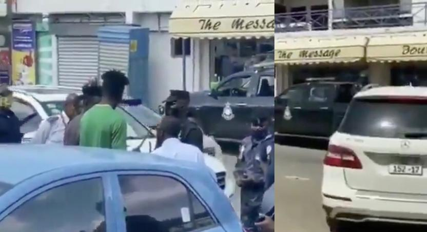 Shatta Wale sends policemen to retrieve his car from Joint 77