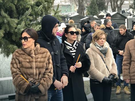 Ceca, Veljko, Anastasija i Sofija